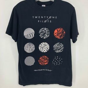 Tops - Blurryface T-shirt Twenty one pilots band